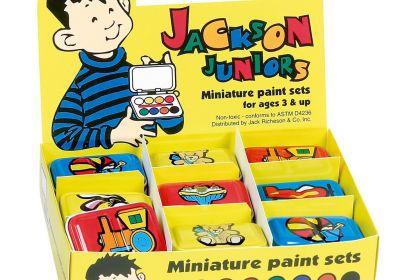 Jackson Junior Minature Paint Sets