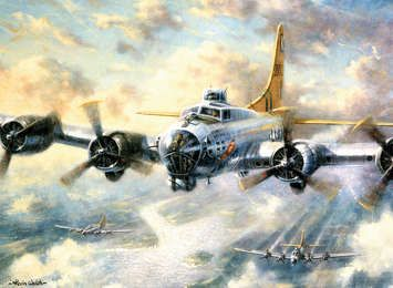 Paint by Numbers Lrg Flying Fortress