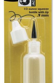 .9mm Squeeze bottle w/tip